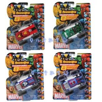 Машинки-трансформеры Regener8'RS Marvel