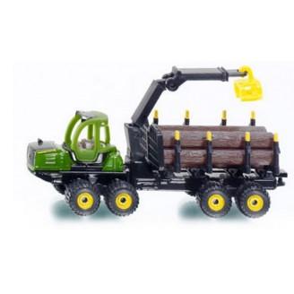 Лесозаготовительная машина форвардер John Deere Модель Siku1649