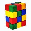 Набор цветных кубиков, 25 штук, 12 × 12 см Крошка Я