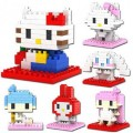 Конструкторы LOZ Hello Kitty и ее друзья
