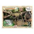 Скелет Т-Рекса: - Большая реалистичная скелетная копия «Короля динозавра»фирмы Geoworld Jurassic Hunters