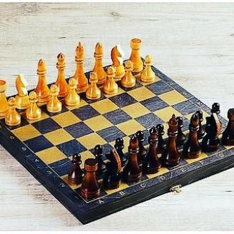 Деревянные шахматы большие